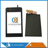 Black Color 100 Guarantee For Explay Bit LCD Display With Touch Screen Digitizer 1PC Lot