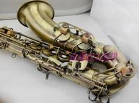France Selmer54 Tenor Saxophone In B Flat Antique Copper Simulation Brass Musical Instruments Professional EMS DHL