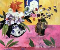 French impressionists art Still Life with Japanese Woodcut by Paul Gauguin painting High quality Hand painted