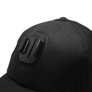 Image 3 - Kaliou chapeau de soleil extérieur casquette de Baseball monture pour support pour GoPro 6 5 4 3 2 1 SJCAM SJ4000 SJ5000 accessoires de caméra daction