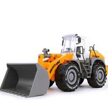 1:22 бульдозер модели игрушки большие ABS литые под давлением игрушки копания игрушки модель Сельский трактор грузовик инженерные транспортные средства детские подарки