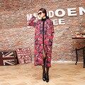 2017 Mujeres Del Invierno Del Otoño de Manga Larga de labios Impreso Knitting Cardigan Sweater Coat Mujeres Hizo Punto la Rebeca Femenina tire femme E61