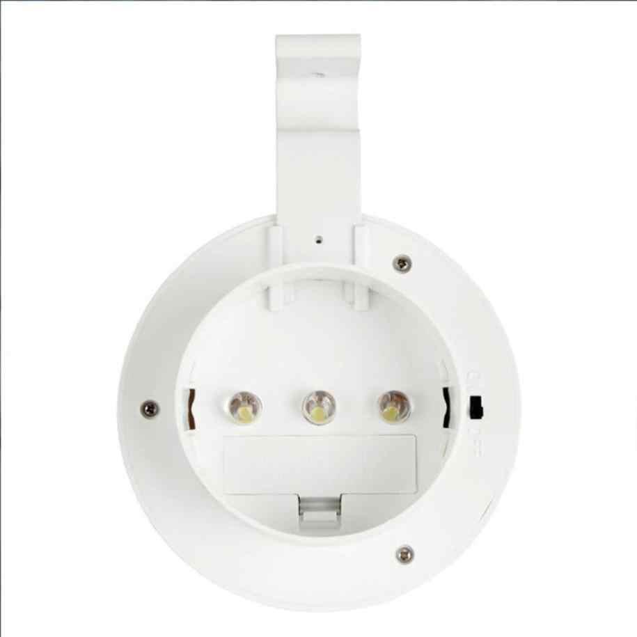 MUQGEW солнечной энергии Подвесная лампа 3 светодиодный подвесная солнечная батарея Street светодиодный садовый номер дома легкий наружный светильник диапазон с заката CSV