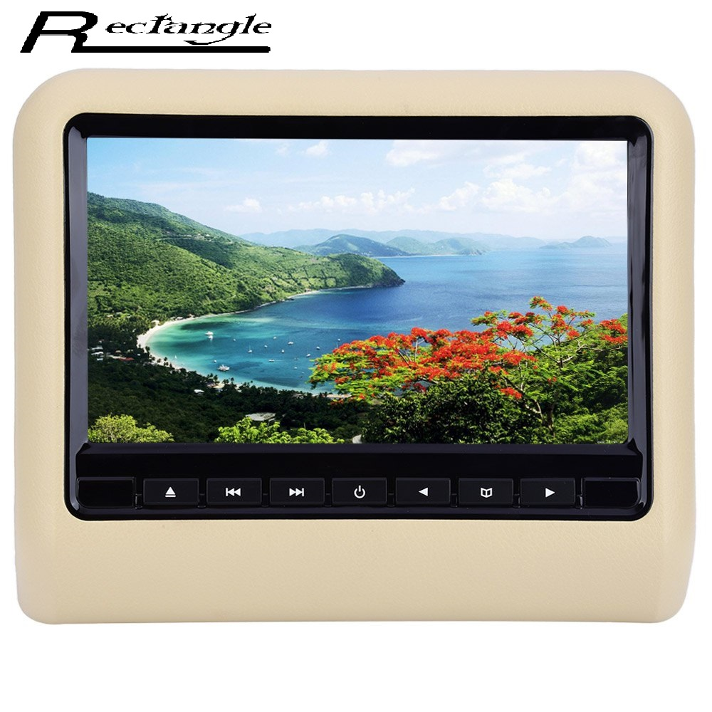 все цены на XD9901 9 Inch HDMI LCD Screen Monitor Universal Car Headrest Mount DVD Multimedia Player with Full Functional Remote Control онлайн