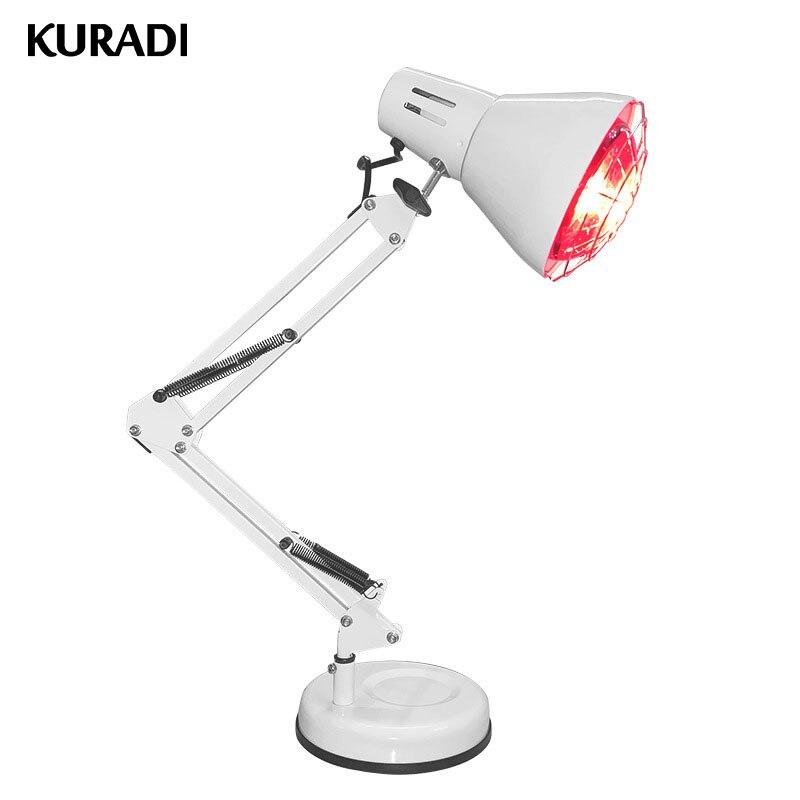 Thérapie de lampe de chaleur de physiothérapie de lumière infrarouge rouge de 150 W pour le soulagement de douleur articulaire de Muscle de corps