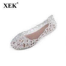 e99714a0e Novos 2017 mulheres verão sandálias respirável sapatos de geléia de cristal  ninho sandálias de cristal do