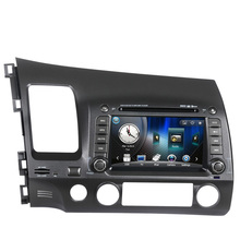 Free Shipping Wince 6.0 Car DVD GPS navigation For Honda Civic 2006 2007 2008 2009 2010 2011 Left hand drive TV bluetooth Ipod