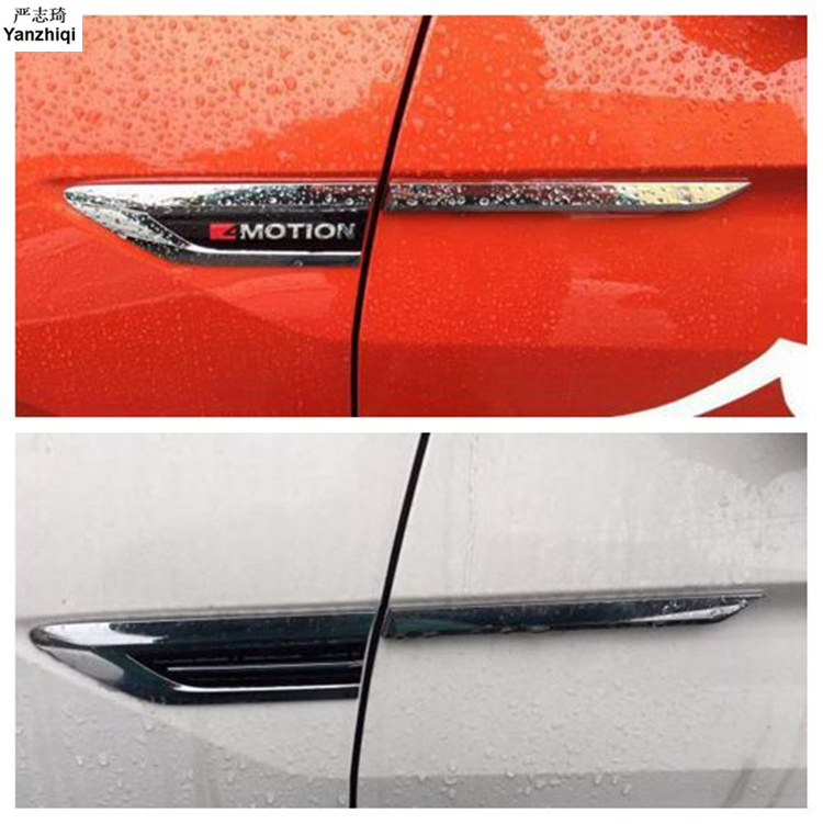 4 Motion 4Motion 4X4 Side Wing Fender Emblem Badge Sticker Trim Car Styling For 2016 2017 Volkswag VW Passat B8 Alltrack/Variant