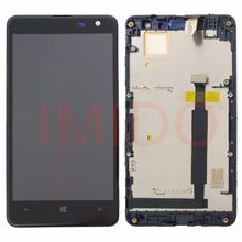 For Nokia Lumia 625 RM-941 RM-943 LCD Display+Touch Screen Digitizer Assembly+Frame Replacement Parts(China)