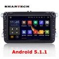 2din Android 5. 1 Стерео Радио DVD GPS Navi Голову блок для Поло Scirocco Passat Кролик Amarok Экран Головное устройство Парковки датчик