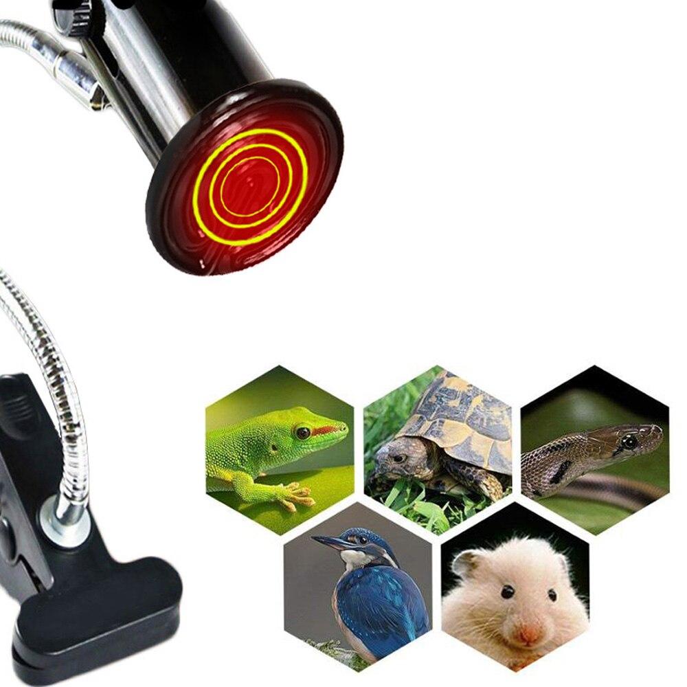 Керамический держатель лампы 25-200 Вт нагревательная лампа+ Цоколь E27 курица животное цыпленок черепаха инфракрасный нагреватель 220-240 в инструмент контроля температуры
