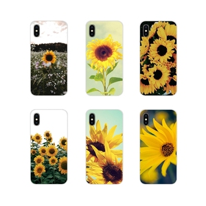 Design Phone Case For Oneplus 3T 5T 6T Nokia 2 3 5 6 8 9 230 3310 2.1 3.1 5.1 7 Plus 2017 2018 Beautiful yellow flower sunflower(China)