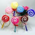 Baby shower decoraciones del partido nupcial de la boda favores de fiesta accesorios lollipop toallita pequeña towel