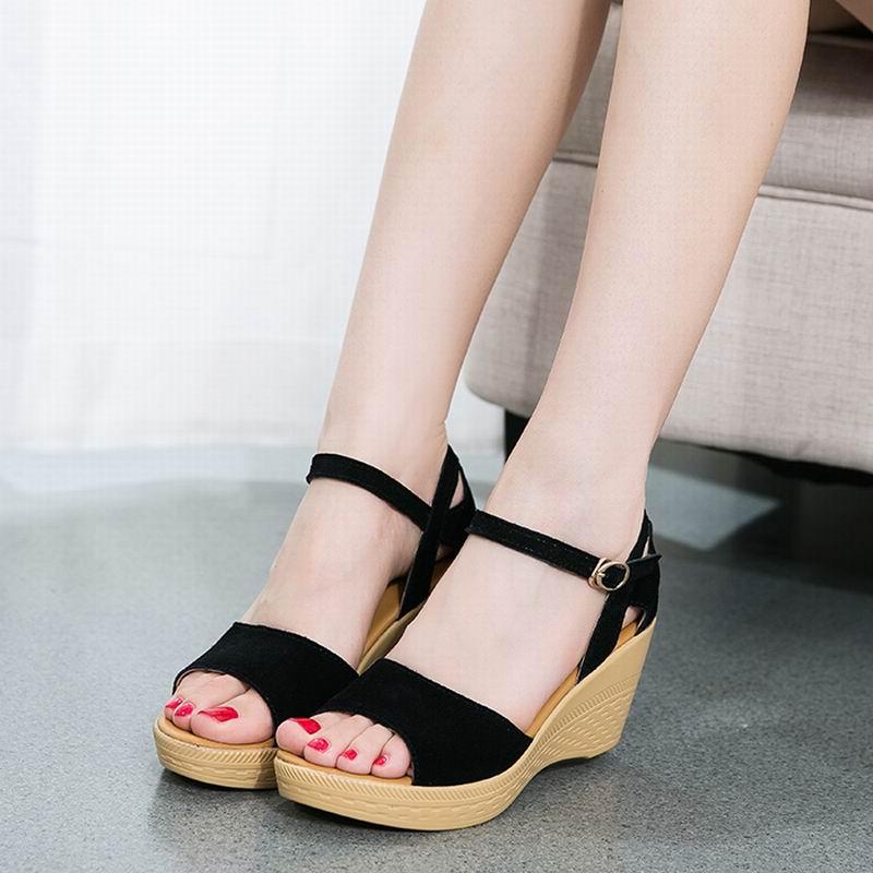 Zapatos Verano Cuñas Mujer Niza Mujeres Sandalias L5AjRq34