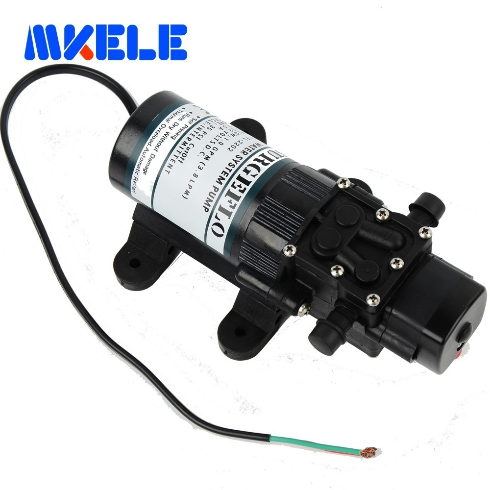 FL 2202 12V DC Mini Submersible water Pumps Diaphragm Pump Diaphragm Vacuum Pump 20m lift Free Shipping