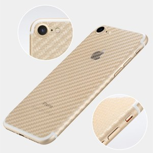 Image 5 - 5Pcs iPhone 6 6s 7 8 Plus 5s Full Cover 3D Anti fingerprint Carbon Fiber Back Screen Protector Film For iPhone X XR XS 11Pro Max