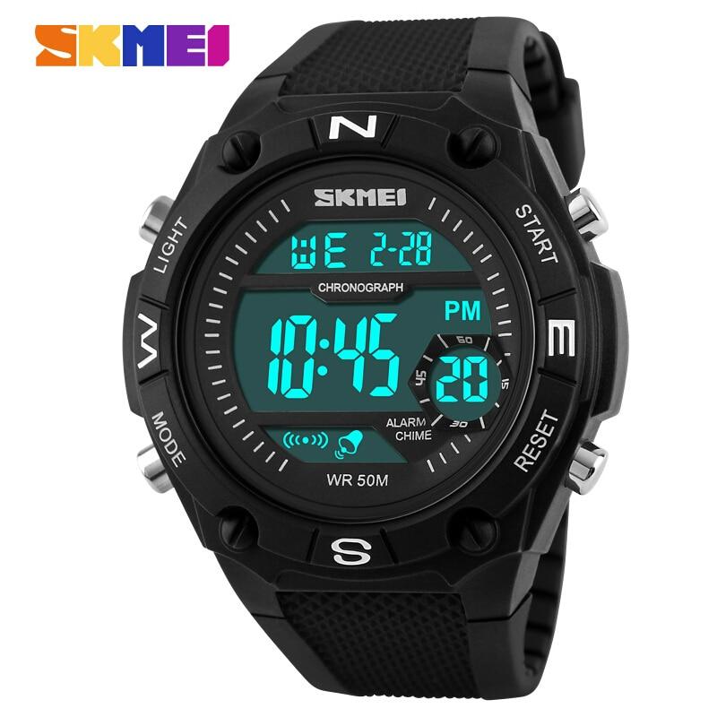 SKMEI Brand font b Men s b font Quartz Digital Watch font b Men b font