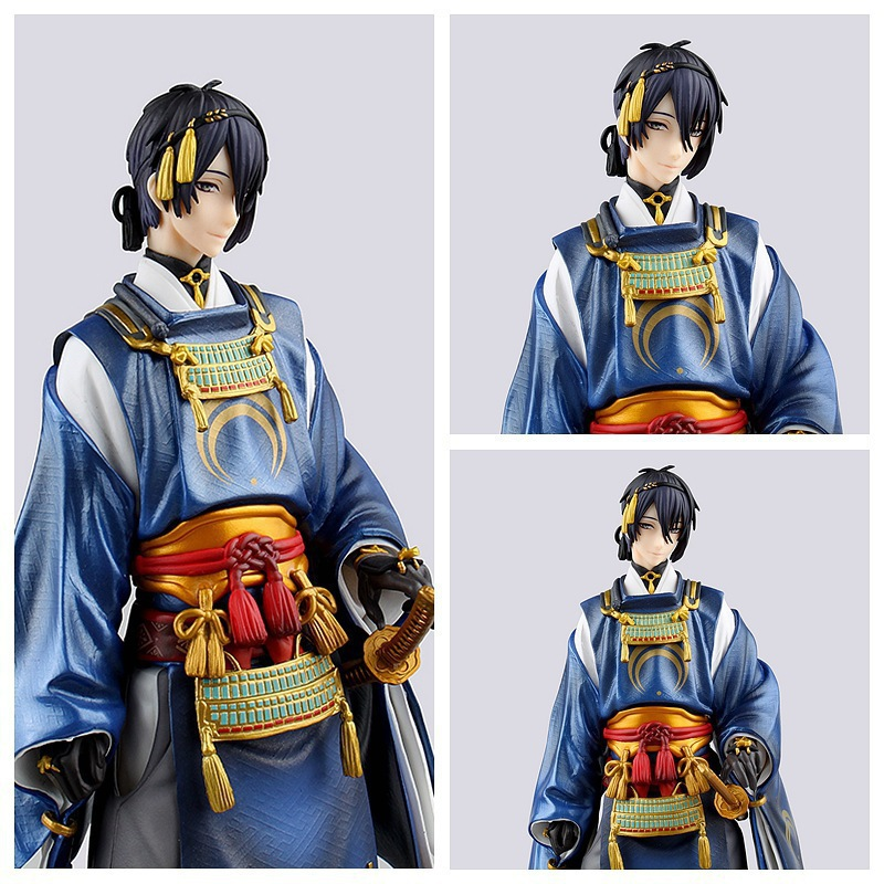 NEW hot 22cm Touken Ranbu Online Mikazuki Munechika action figure collection toys Christmas gift new hot 20cm touken ranbu online hotarumaru action figure toys collection christmas toy doll