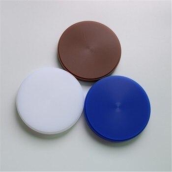 10 Pieces/Lot OD98*12 mm Dental Lab CAD CAM Wax Disc Dental Wax Block Blue/White/Brown