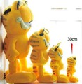 Free Shipping 1pcs 30cm=11.8'' Plush Garfield Cat Plush Stuffed Toy High Quality Soft Plush Figure Doll