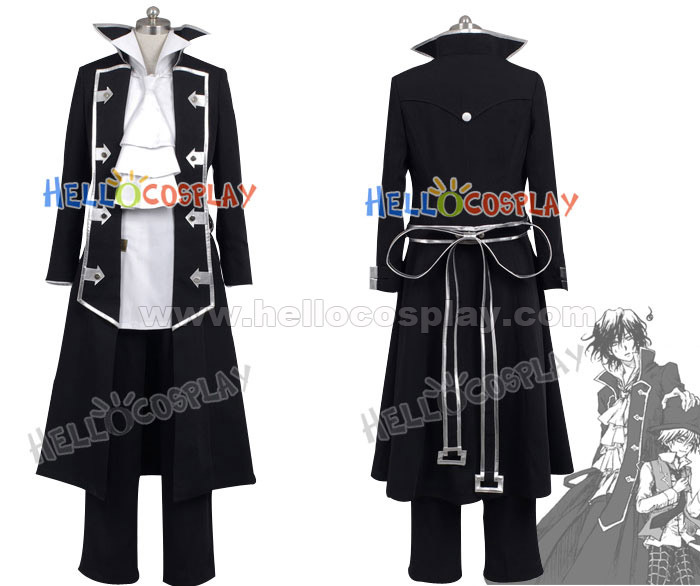 Pandora Hearts Gilbert Nightray Costume H008
