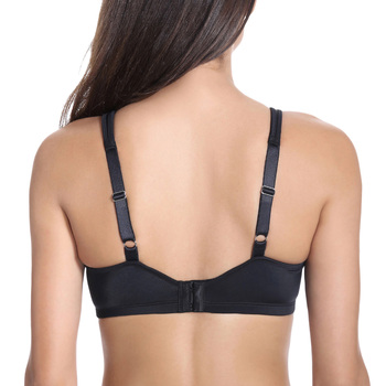 Delimira Women's Smooth Full Figure Underwire Seamless Minimizer Bra 2