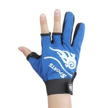 Outdoor Sports Three Or Five Cut Finger Fishing Gloves Anti Slip Fishing Gloves Slip resistant glove