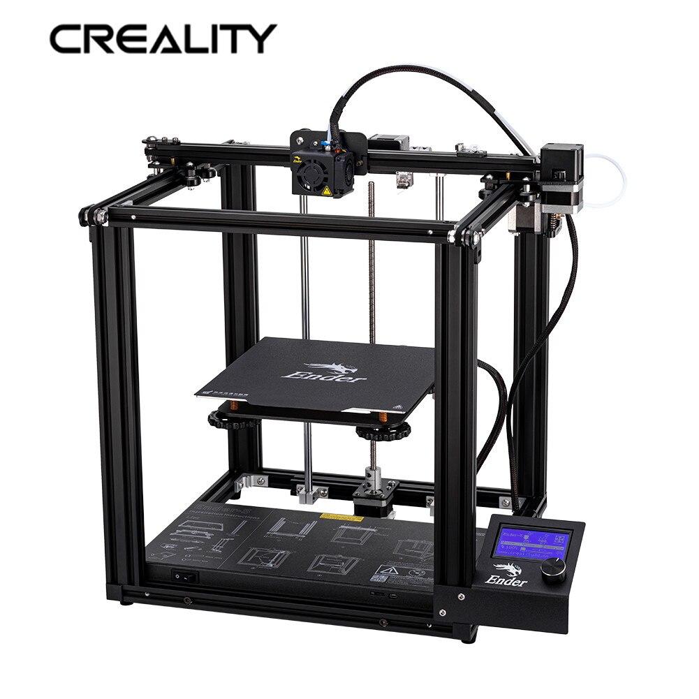 Neueste Creality 3D Drucker Ender-5 Drucker Mit Stabile Power Geschlossene Struktur Und Power Off Lebenslauf Druck 220*220*300