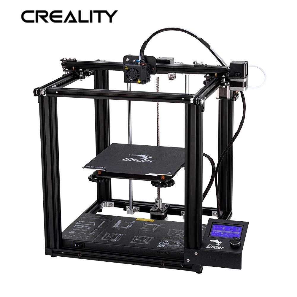 Nouvelle imprimante de Ender-5 d'imprimante 3D de créalité avec la Structure incluse de puissance Stable et la mise hors tension reprennent l'impression 220*220*300