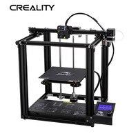 Yeni Creality 3D Yazıcı Ender-5 Yazıcı Ile Istikrarlı Güç Kapalı Yapısı Ve Güç Kapalı Baskı 220*220*300