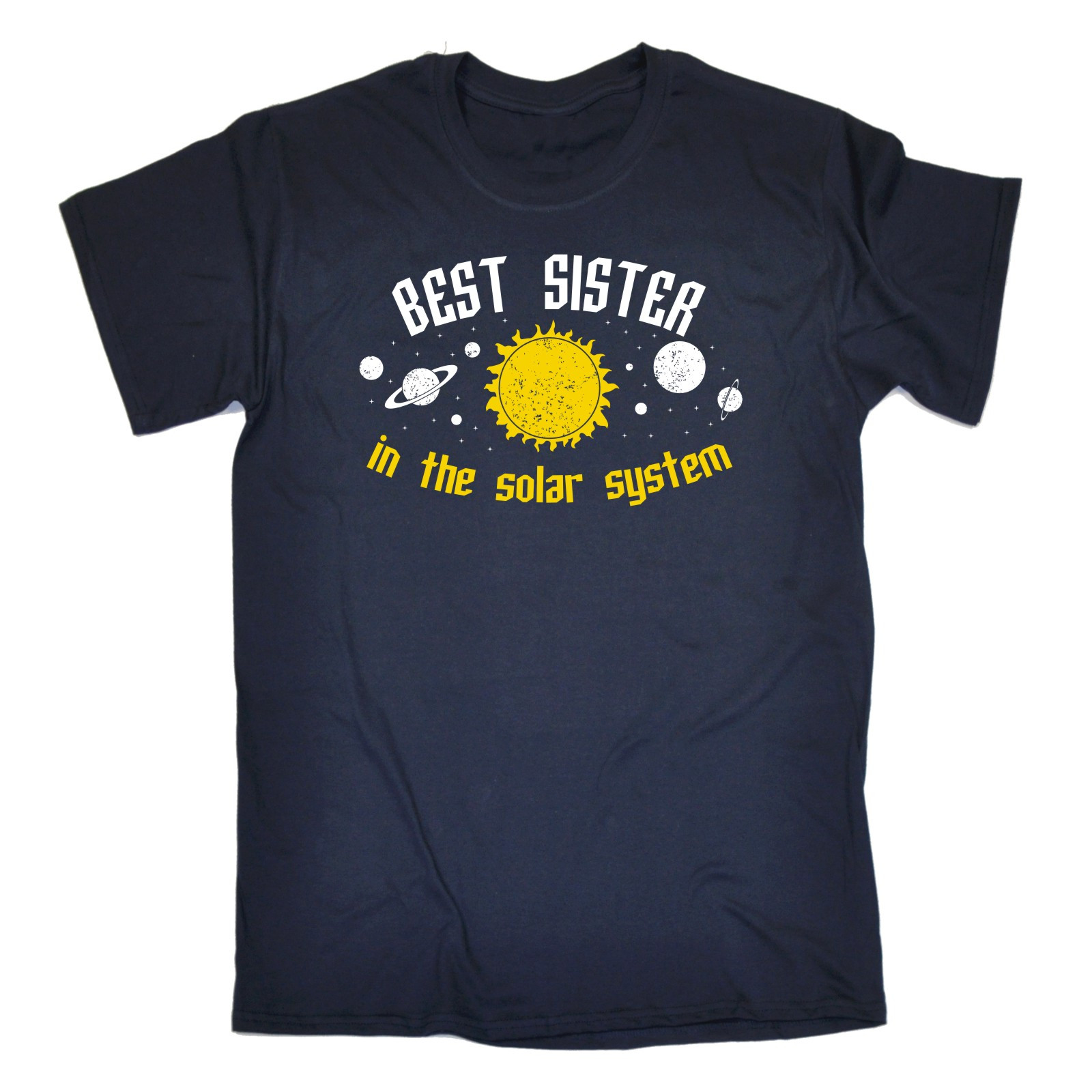 SOLAR T-SHIRT sibling sis funny tee birthday gift Personalized T Shirt T-Shirt