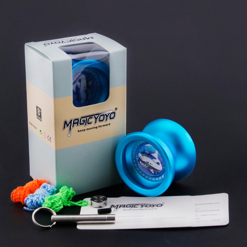 New Arrival MAGICYOYO T9 Professional yoyos Metal YO-YO Classic Toys Novice Advanced for Beginners