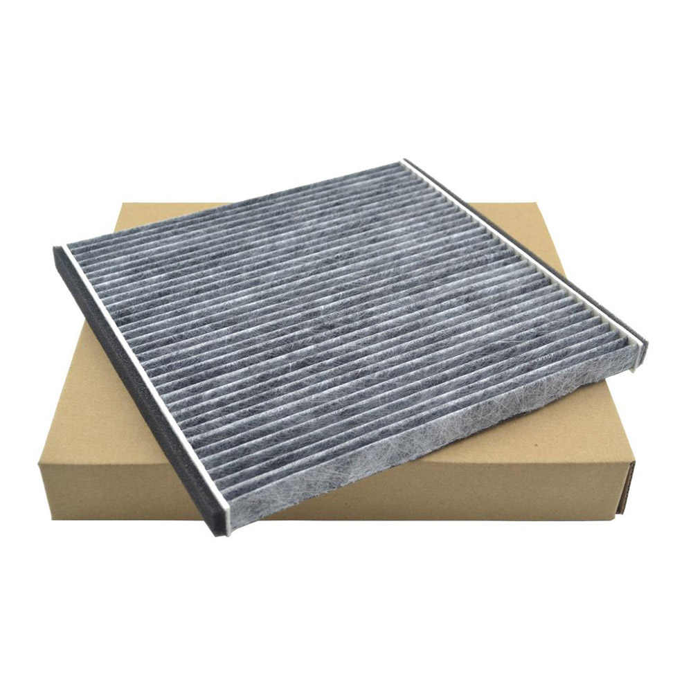 Car Styling Carbon Fiber Cabin Air Filter for Toyota PRIUS ECHO CELICA CAMRY Subaru CSL2017