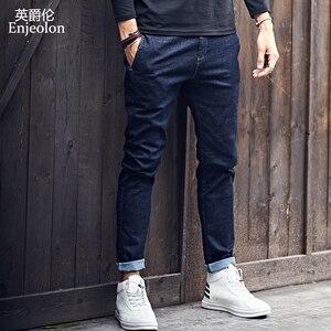 Image 1 - Enjeolon 2020 ใหม่บุรุษแบรนด์กางเกงยีนส์สีดำกางเกงยีนส์แฟชั่นกางเกงบุรุษกางเกงยีนส์กางเกงยีนส์กางเกงขนาดKZ6141