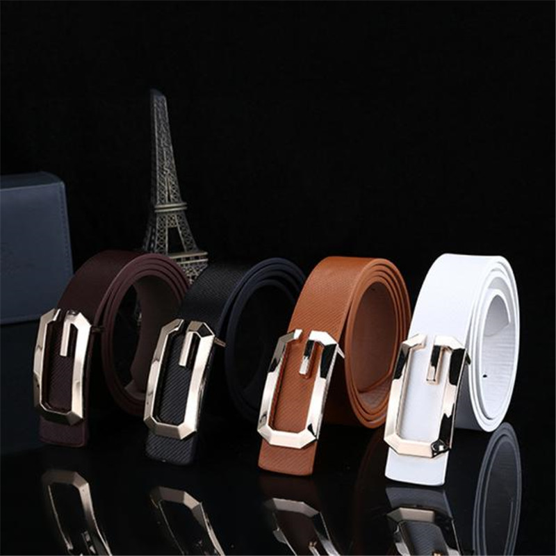 2019 New Fashion Cool Casual PU Leather Thin Belt Skinny Slender Waistband Unisex LETHER Belts For Women 40FE02