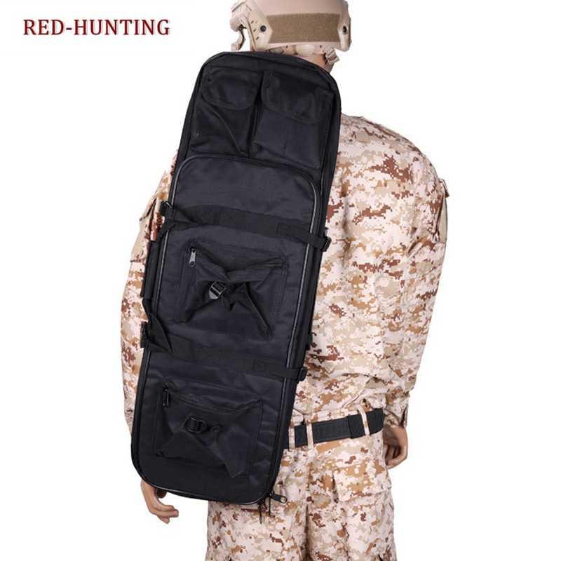 См 120 см тактический пистолет сумка Открытый военный охотничий мешок 47,2 ''мягкий баррель переноска пистолет сумка с плечевым ремнем