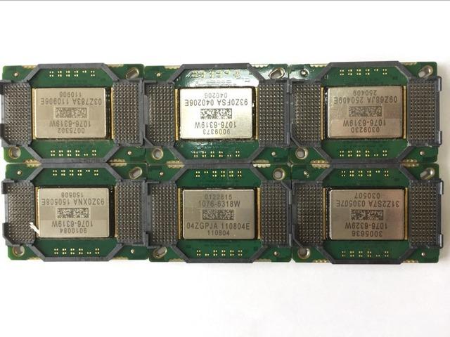 Frete grátis Original CHIP DMD 1076-6319 W 1076-6318 W 1076-6328 W 1076-6329 W 1076-1076-631AW 632AW