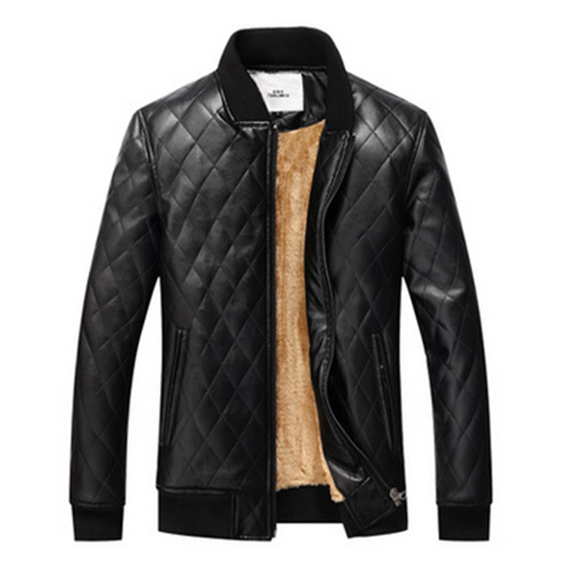 New Fashion Brand Motorcycle Leather Jackets Men Autumn and Winter Leather Clothing Men Leather Jackets Male Business Casual Co