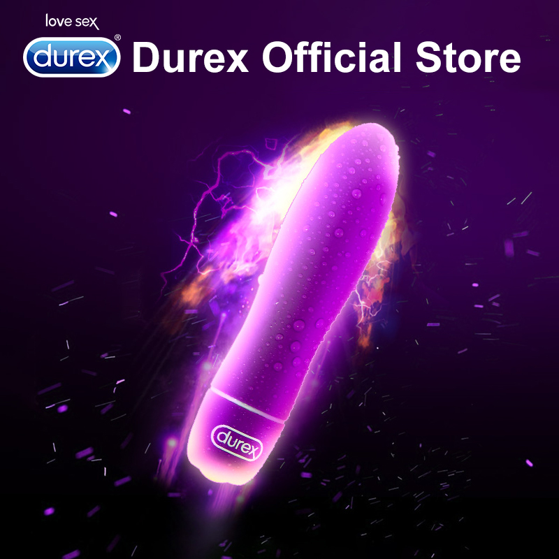 Durex Multi-functional Bullet Vibrator Waterproof G-Spot Bullet Clitoral Stimulation Intimate Goods Adult Sex Toys for Women