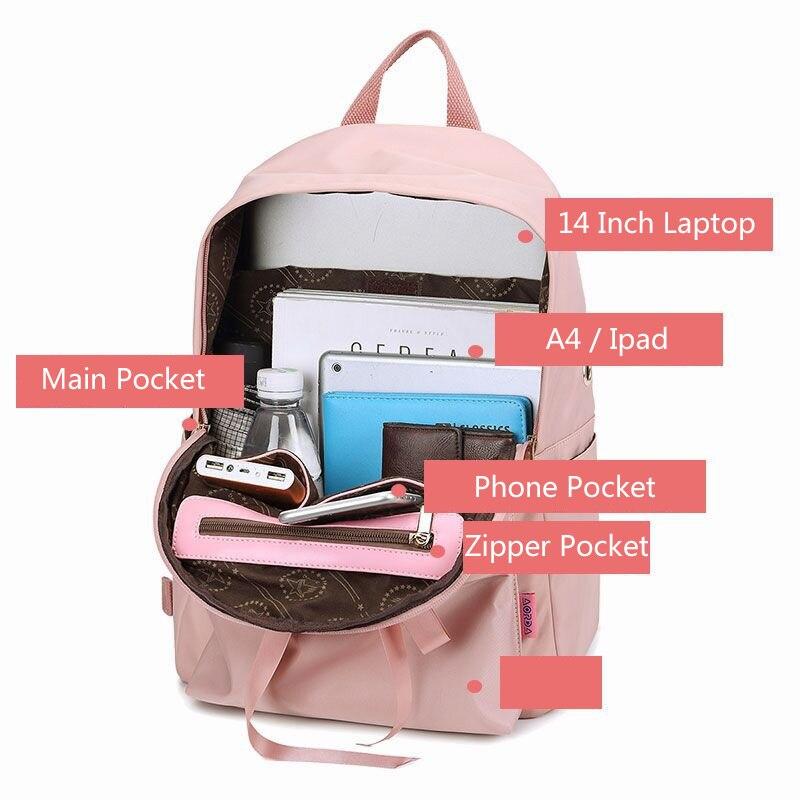 waterproof laptop backpack women cute women s backpacks for school satchel  for teenagers girl backpack teen schoolbag. sku  32914438885 2d0583a14b
