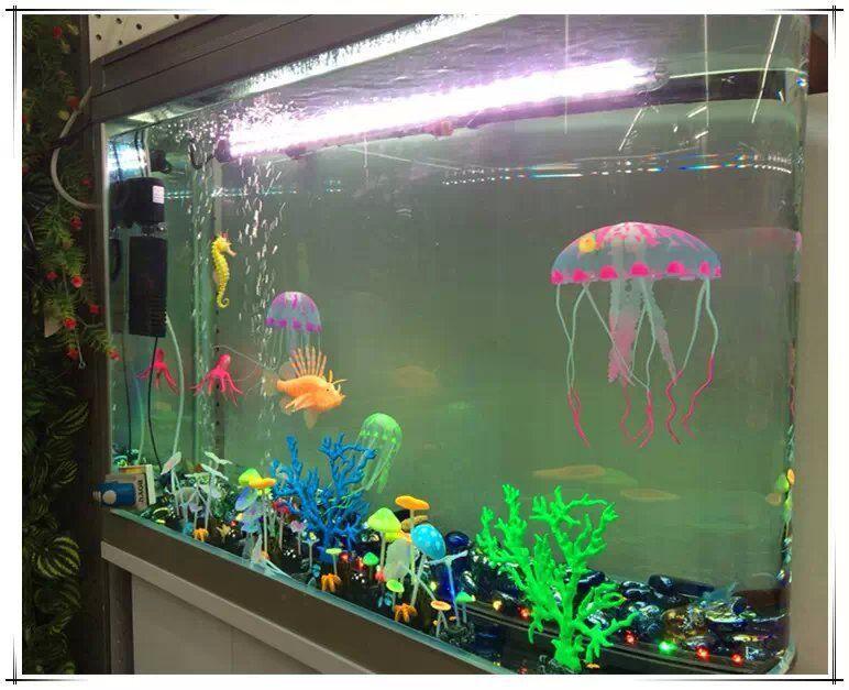 Artificial fish tank aquarium 1000 aquarium ideas for Fake fish that swim