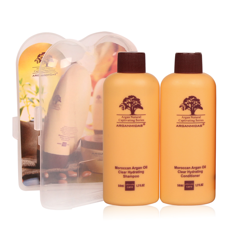 Купить с кэшбэком 300ml Purifying Shampoo+300ml 12% Formalin Brazilian Ultikare Keratin Hair Treatment+Travel Hair Care Shampoo&Conditioner Set