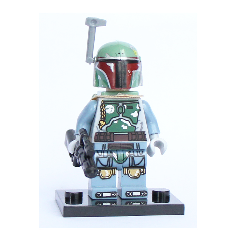 Boba Fett figure Single Sale <font><b>Star</b></font> <font><b>Wars</b></font> <font><b>The</b></font> <font><b>Force</b></font> <font><b>Awakens</b></font> TIE Pilot Troopers Blocks Models & Building Toys For Children