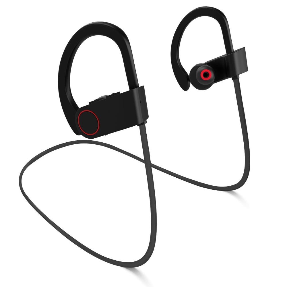 GDLYL Running Headset Mini Wireless Bluetooth Earphone Bass Sport Headphones With Mic Gaming Ear hook Hands Free hifi Earbuds running bluetooth earphone hands free hbs 902 earphone sport wireless with mic for samsung iphone