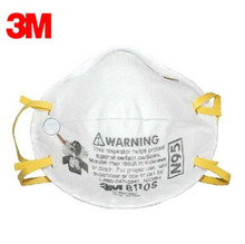 3pcs/Pack3M 8110S Mask Small size Protector Particulate Respirator Mask N95 Standard Health Care Against Non-oil LT113