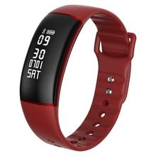 Niyoque смарт-браслет A69 сердечного ритма Приборы для измерения артериального давления Часы умный Браслет Фитнес трекер PK Xiaomi Mi band 2