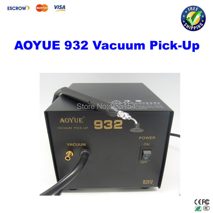 ФОТО 220V Aoyue 932 Vacuum Pick-Up soldering station