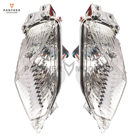 1 Pair Clear Motorcycle Rear Turn Signal Indicator Light Lens Covers case for SUZUKI GSXR 1000 2009 2010 2011 2012 2013 2014 K9