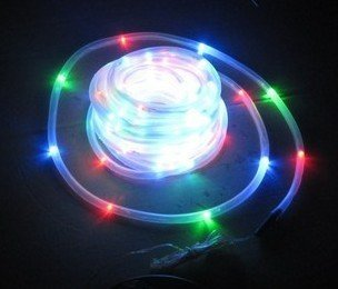 100LED 12M 38ft solar tube light string waterproof/ solar neon Underwater Lights / Christmas Festival