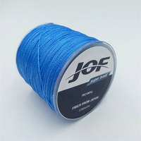 JOF Brand 1000M Multifilament PE Super Strong Japan Braided Fishing Line 4 Stands 8LB 10LB 20LB